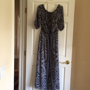 White House Black Market long dress